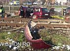 www.bihon.ro - Accident mortal la Osorhei, un tren a lovit un autoturism