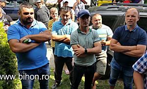 Scandal la Toboliu! Localnicii le cer căutătorilor de gaze să plece!