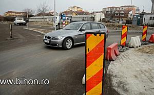 Sens giratoriu nou pe strada Onestilor din Oradea