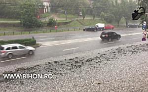 Furtună și grindină în Oradea
