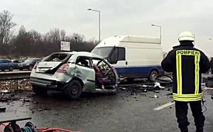 Accident mortal pe centura Oradea 6.01.2016