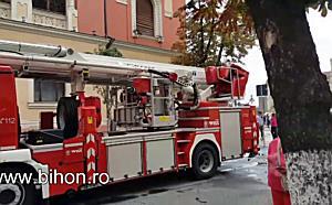 Pagubele produse de incendiul de la Palatul Episcopiei Greco Catolice din Oradea
