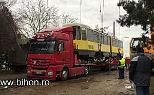 www.bihon.ro - Au ajuns primele tramvaie second hand din Germania