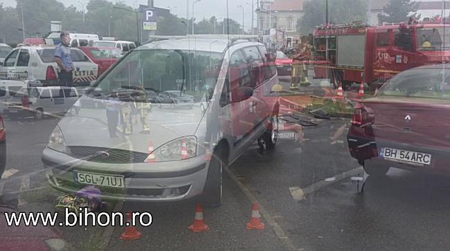 Accident în Oradea. Un tânăr de etnie romă a spulberat patru fete aflate pe trotuar