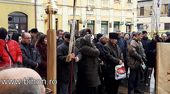 Boboteaza la Biserica cu Lună din Oradea