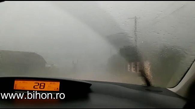 Furtuna devastatoare in Bihor