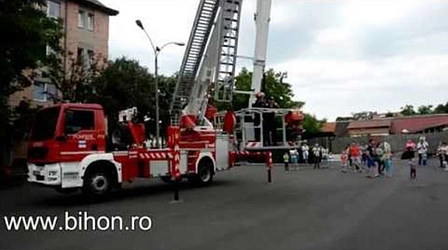 1 iunie - Ziua Portilor Deschise la Pompieri