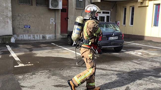 Incendiu pe bulevardul Dacia din Oradea