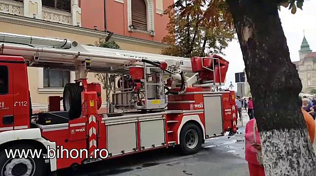 www.bihon.ro - Pagubele produse de incendiul de la Palatul Episcopiei Greco Catolice din Oradea